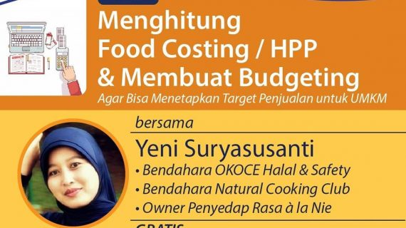 Menghitung Food Costing / Hpp & Budgeting